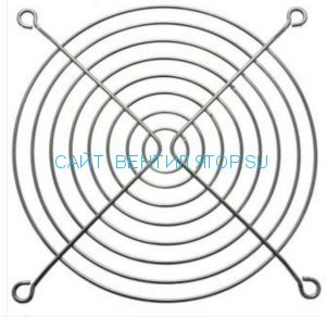 Решетка для вентилятора металлическая 120х120